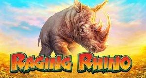WMS Raging Rhino kasino peli